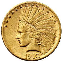USA - 10 Dollari Indiano