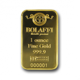 Lingotto Bolaffi Metalli Preziosi 1 oz. (oncia)