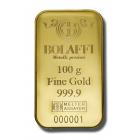 Lingotto Bolaffi Metalli Preziosi 100 gr.