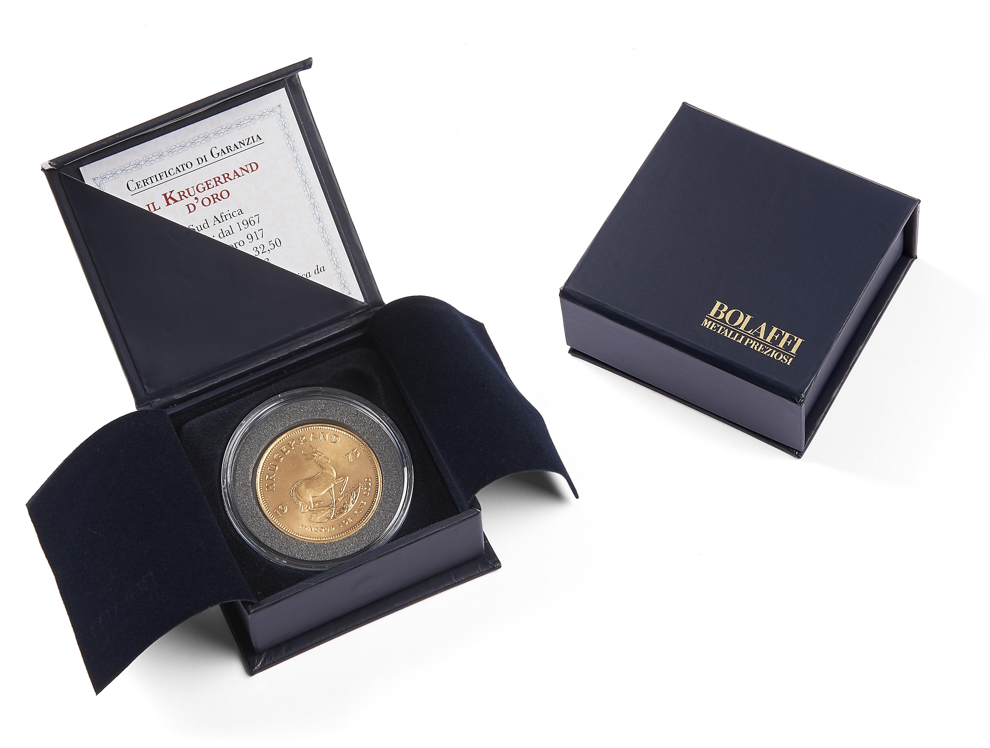 cofanetto sterlina oro certificato