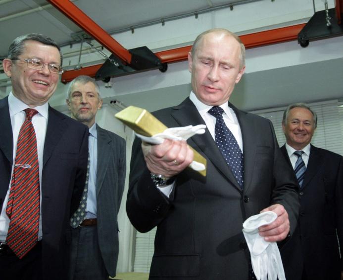 Riserve auree: Mosca continua la scalata