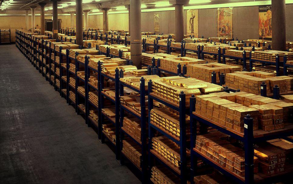Quanto oro c'è davvero a Londra?