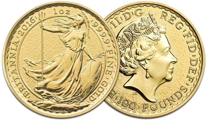 L'oncia bullion tipo Britannia: trent'anni di splendida giovinezza