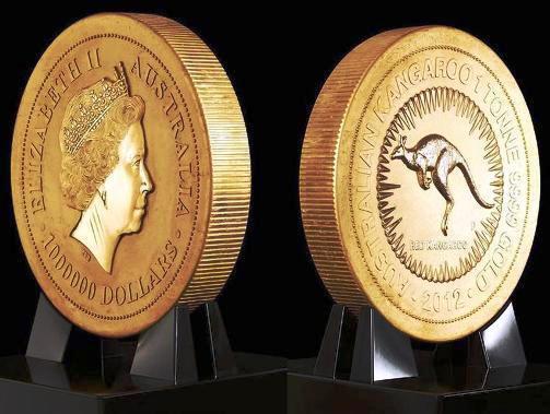 Sotto il segno del canguro, la bullion coin più grande del mondo