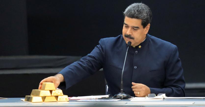 Venezuela: il governo ritira 8 tonnellate d'oro dalla banca centrale